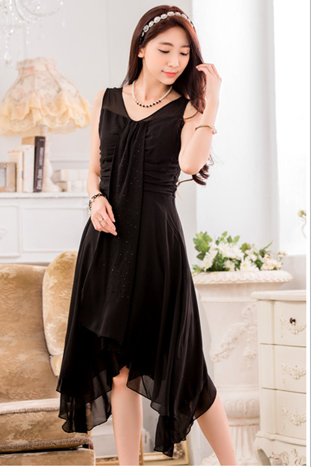 Black dress match with what colour - Prev