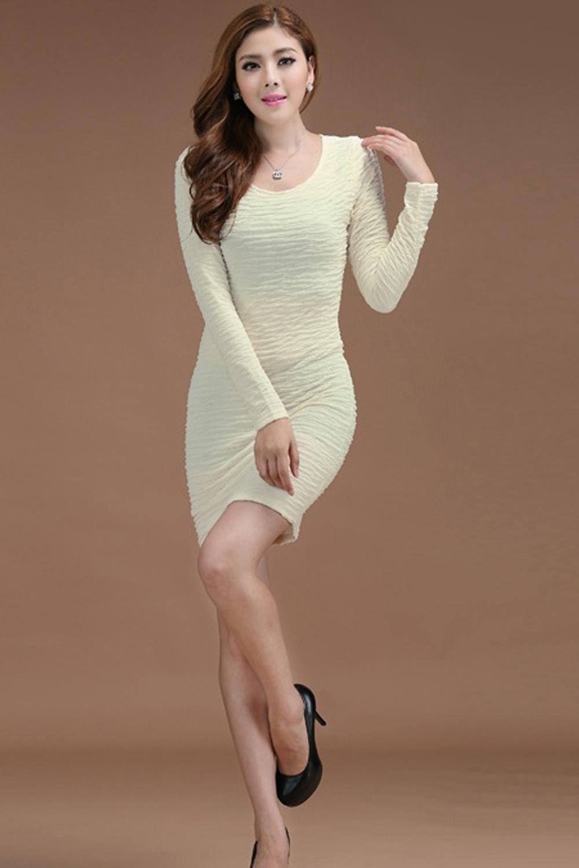 88451078de WOMEN SLIM PLAID PATTERN FULL SLEEVES DRESS WHITE – Unomatch Shop