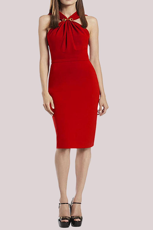 ed2918fcde2 UNOMATCH WOMEN SLIM HALTER BODYCON EVENING DRESS – Unomatch Shop